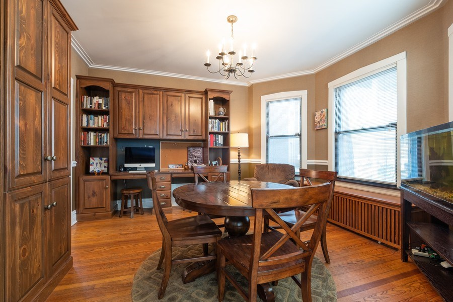 Real Estate Photography - 833 Lincoln St, Evanston, IL, 60201 - Dining Room