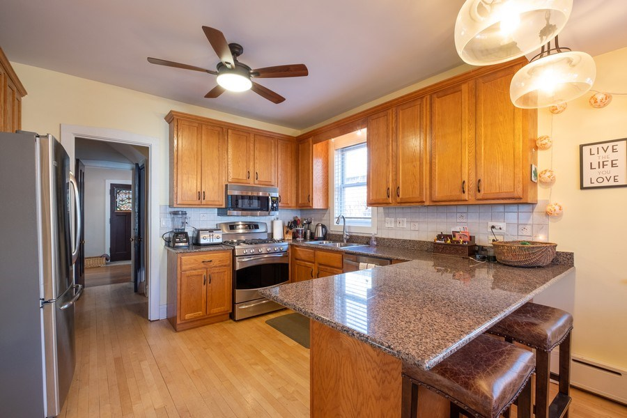 Real Estate Photography - 833 Lincoln St, Evanston, IL, 60201 - Kitchen