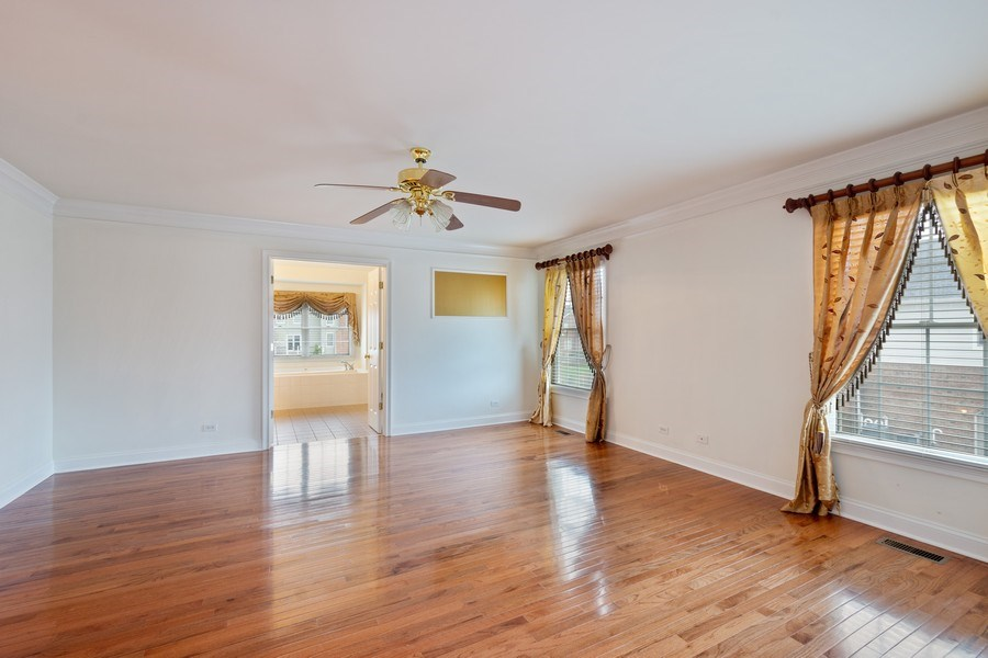 Real Estate Photography - 35 Olympic Drive, South Barrington, IL, 60010 - Master Bedroom