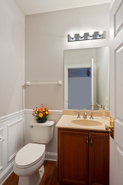 Real Estate Photography - 35 Olympic Drive, South Barrington, IL, 60010 - Powder Room