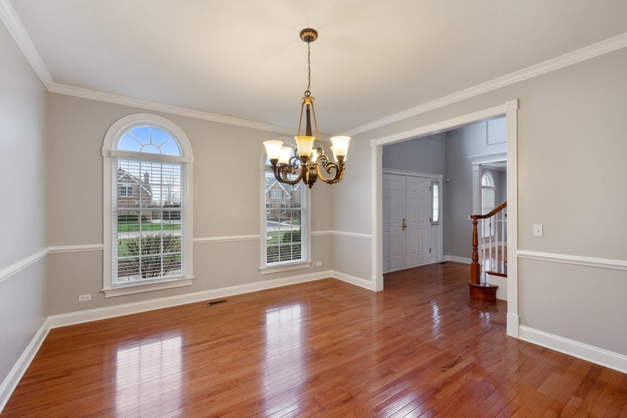 Real Estate Photography - 35 Olympic Drive, South Barrington, IL, 60010 - Dining Room