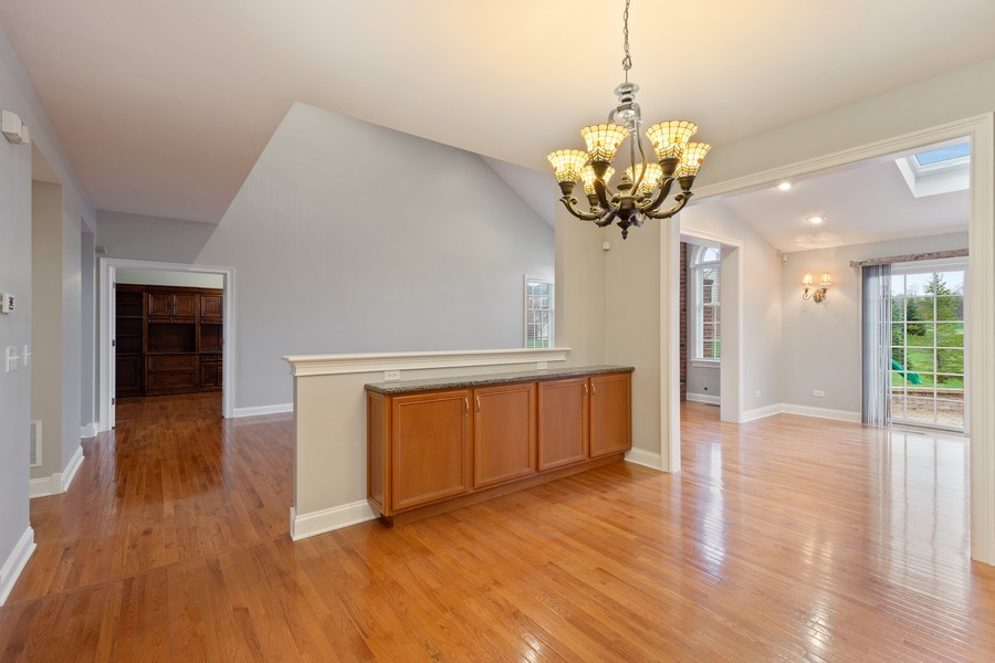 Real Estate Photography - 35 Olympic Drive, South Barrington, IL, 60010 - Breakfast Area
