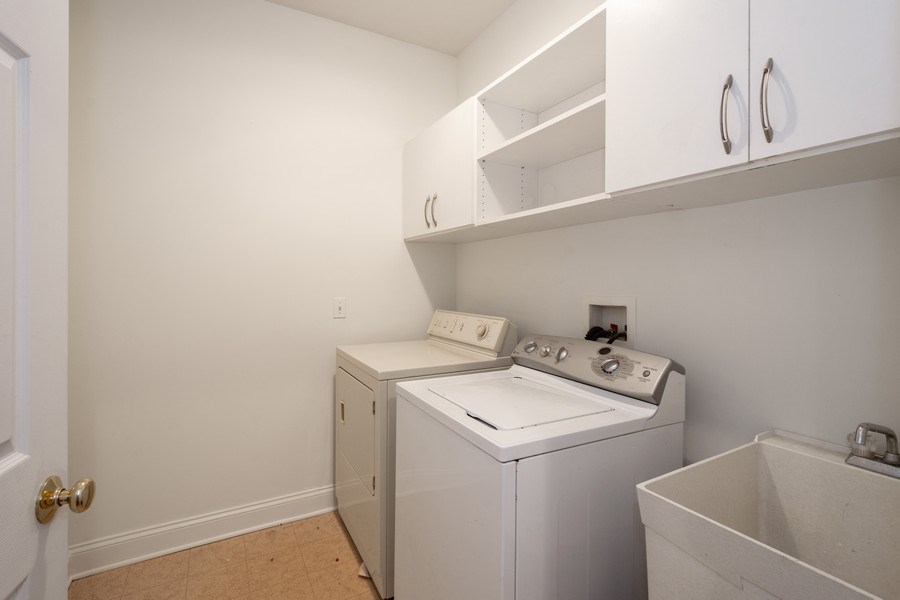 Real Estate Photography - 35 Olympic Drive, South Barrington, IL, 60010 - Laundry Room