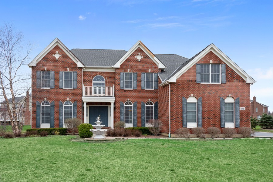 Real Estate Photography - 35 Olympic Drive, South Barrington, IL, 60010 - Front View