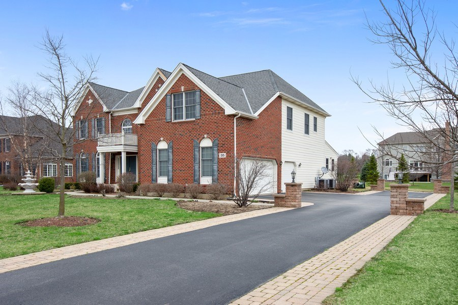 Real Estate Photography - 35 Olympic Drive, South Barrington, IL, 60010 - Side View