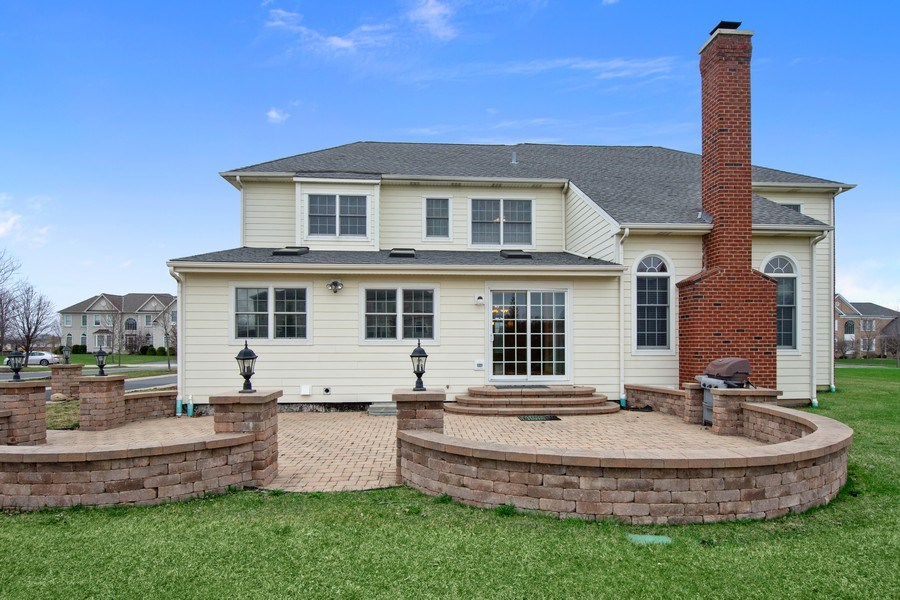 Real Estate Photography - 35 Olympic Drive, South Barrington, IL, 60010 - Rear View