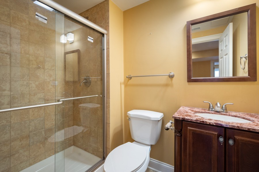 Real Estate Photography - 35 Olympic Drive, South Barrington, IL, 60010 - Bathroom