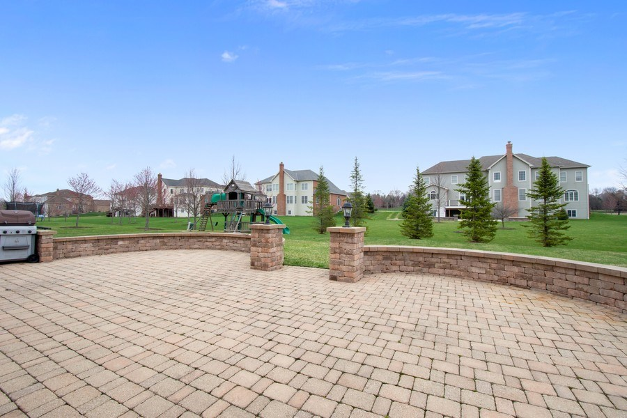 Real Estate Photography - 35 Olympic Drive, South Barrington, IL, 60010 - Patio