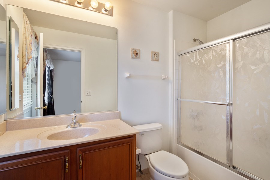 Real Estate Photography - 35 Olympic Drive, South Barrington, IL, 60010 - 2nd Bathroom