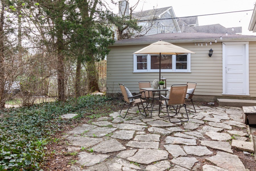 Real Estate Photography - 736 w hinsdale ave, Hinsdale, IL, 60521 - Patio