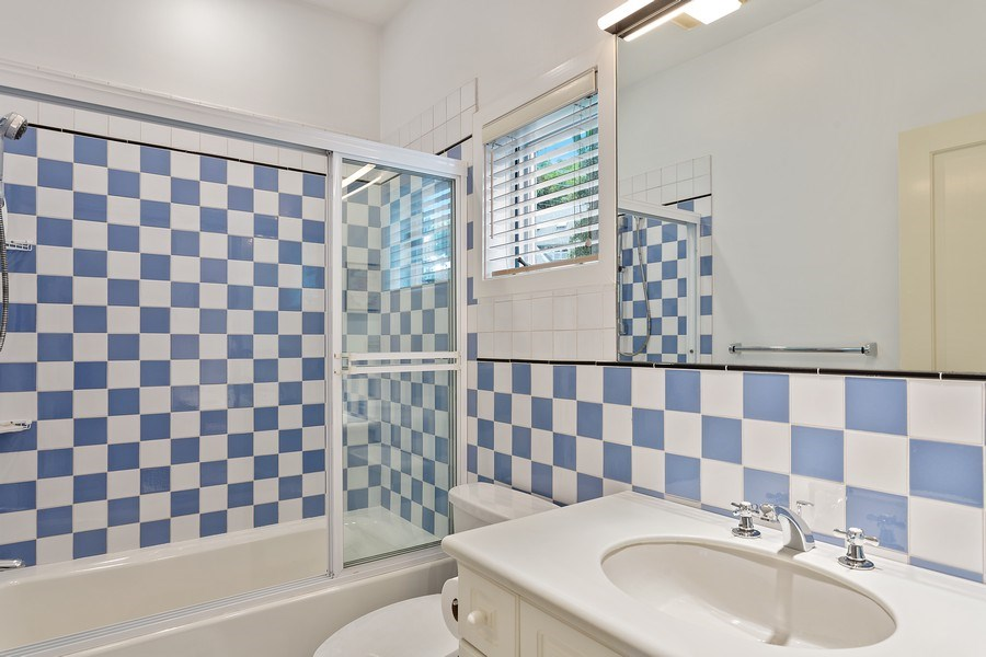 Real Estate Photography - 3002 Lakeshore Dr, Long Beach, IN, 46360 - 3rd Bathroom