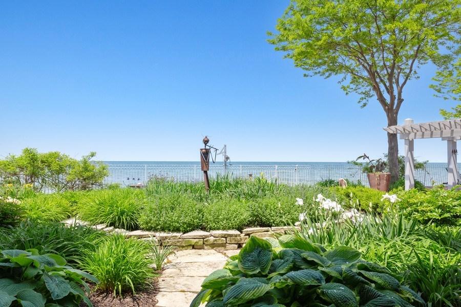 Real Estate Photography - 3002 Lakeshore Dr, Long Beach, IN, 46360 - Garden
