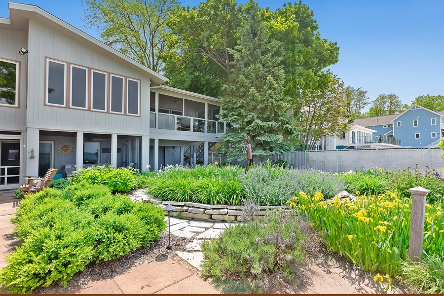 Real Estate Photography - 3002 Lakeshore Dr, Long Beach, IN, 46360 - Front View
