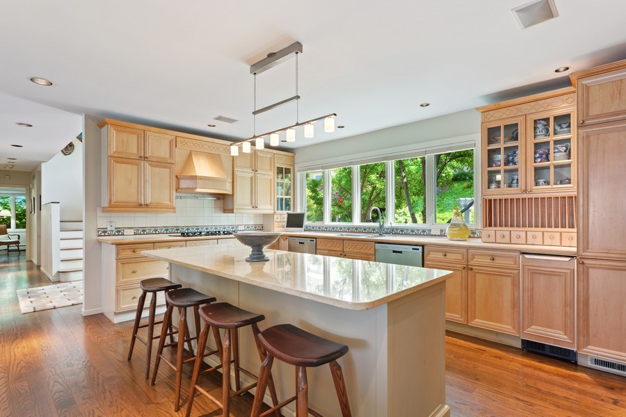 Real Estate Photography - 3002 Lakeshore Dr, Long Beach, IN, 46360 - Kitchen