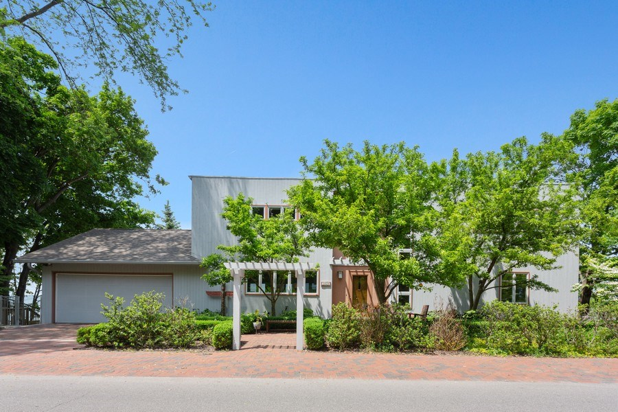 Real Estate Photography - 3002 Lakeshore Dr, Long Beach, IN, 46360 - Rear View