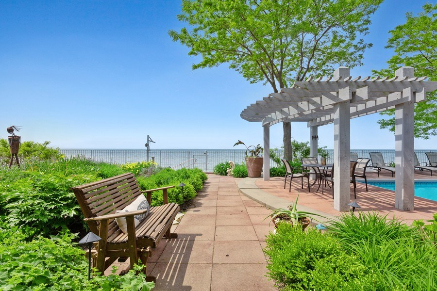 Real Estate Photography - 3002 Lakeshore Dr, Long Beach, IN, 46360 - Patio