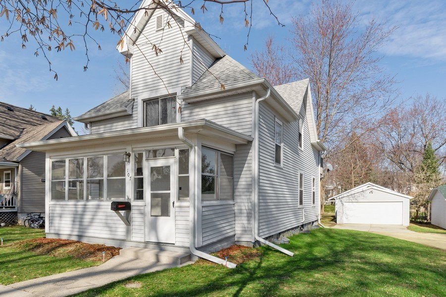 Real Estate Photography - 107 South Finch Street, Horicon, WI, 53032 - Front View
