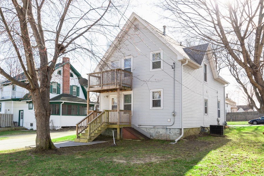 Real Estate Photography - 107 South Finch Street, Horicon, WI, 53032 - Rear View