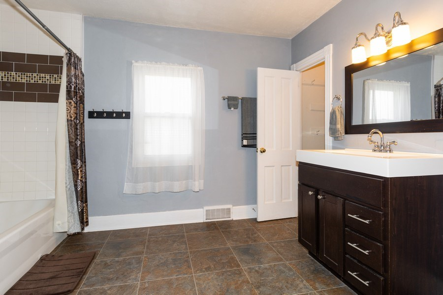 Real Estate Photography - 107 South Finch Street, Horicon, WI, 53032 - Bathroom