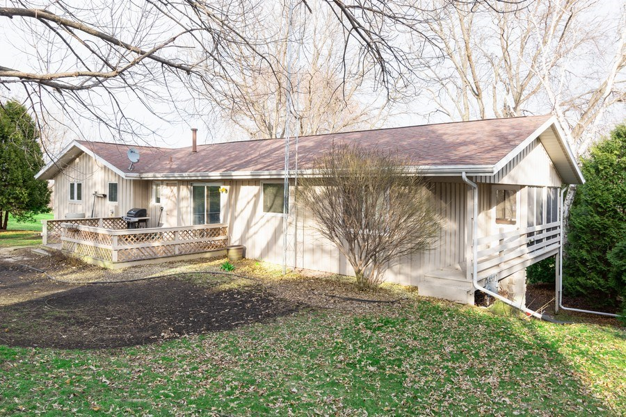 Real Estate Photography - 414 Blue Wing Circle, Horicon, WI, 53032 - Rear View