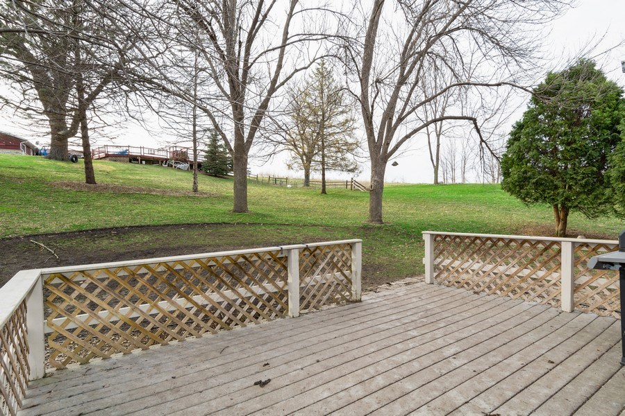 Real Estate Photography - 414 Blue Wing Circle, Horicon, WI, 53032 - Deck