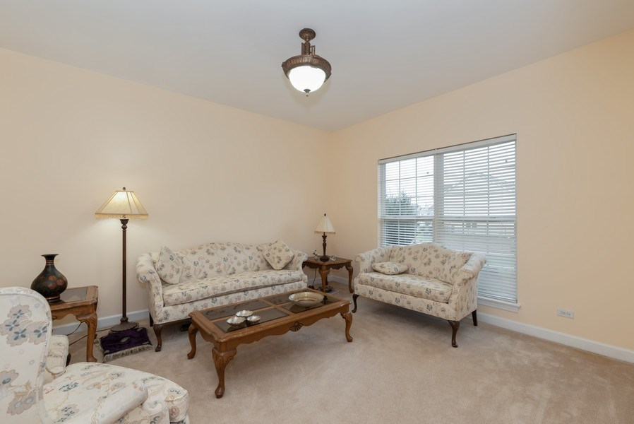 Real Estate Photography - 165 Hearthstone Drive, Bartlett, IL, 60103 - Living Room