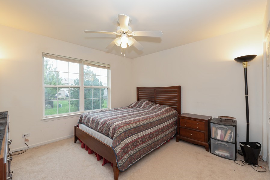 Real Estate Photography - 165 Hearthstone Drive, Bartlett, IL, 60103 - 3rd Bedroom