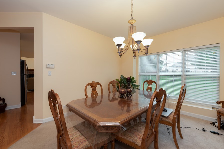 Real Estate Photography - 165 Hearthstone Drive, Bartlett, IL, 60103 - Dining Room