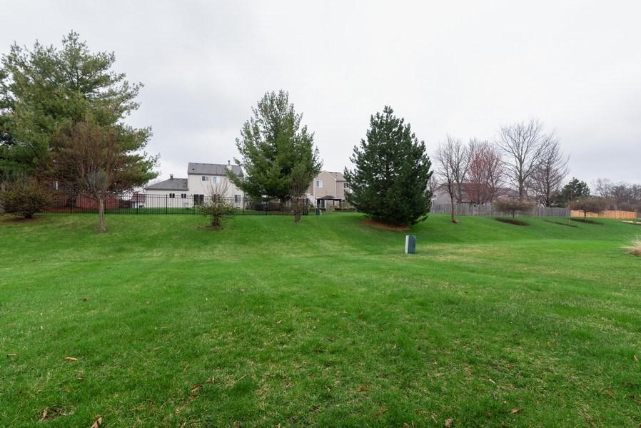 Real Estate Photography - 165 Hearthstone Drive, Bartlett, IL, 60103 - Back Yard