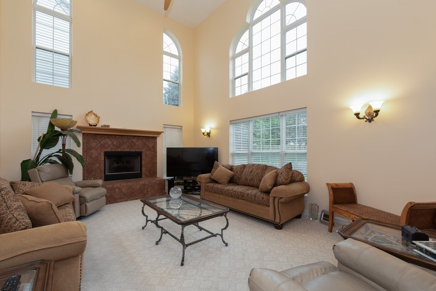 Real Estate Photography - 165 Hearthstone Drive, Bartlett, IL, 60103 - Family Room