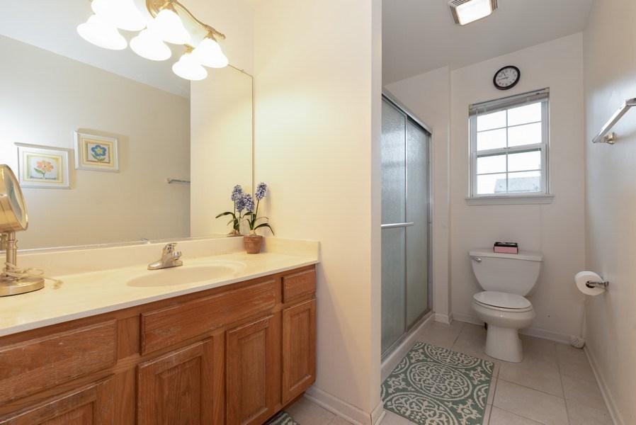 Real Estate Photography - 165 Hearthstone Drive, Bartlett, IL, 60103 - Bathroom