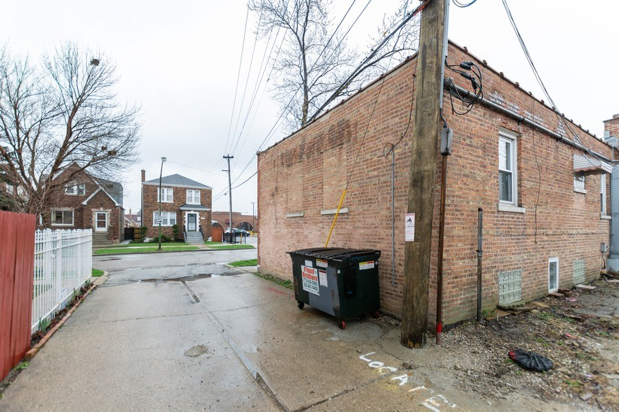 Real Estate Photography - 6457 S Pulaski RD, Chicago, IL, 60629 - Rear View