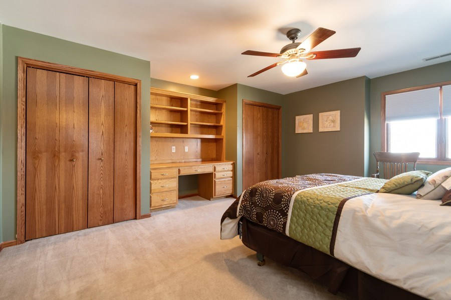 Real Estate Photography - 8015 Abbey Road, Tinley Park, IL, 60477 - 2nd Bedroom