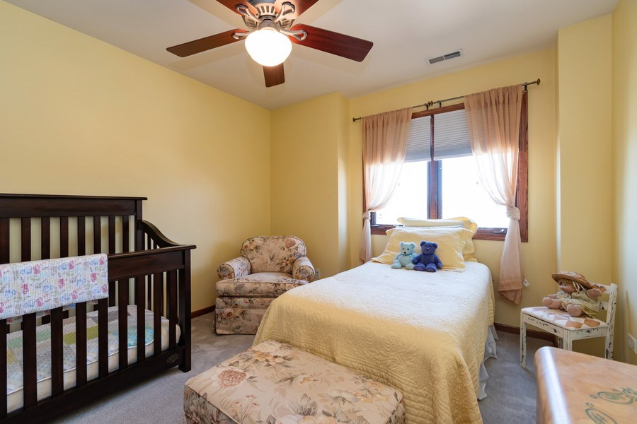 Real Estate Photography - 8015 Abbey Road, Tinley Park, IL, 60477 - 3rd Bedroom