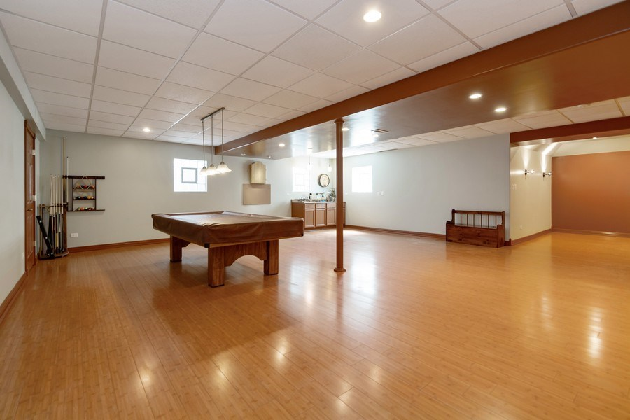 Real Estate Photography - 8015 Abbey Road, Tinley Park, IL, 60477 - Lower Level