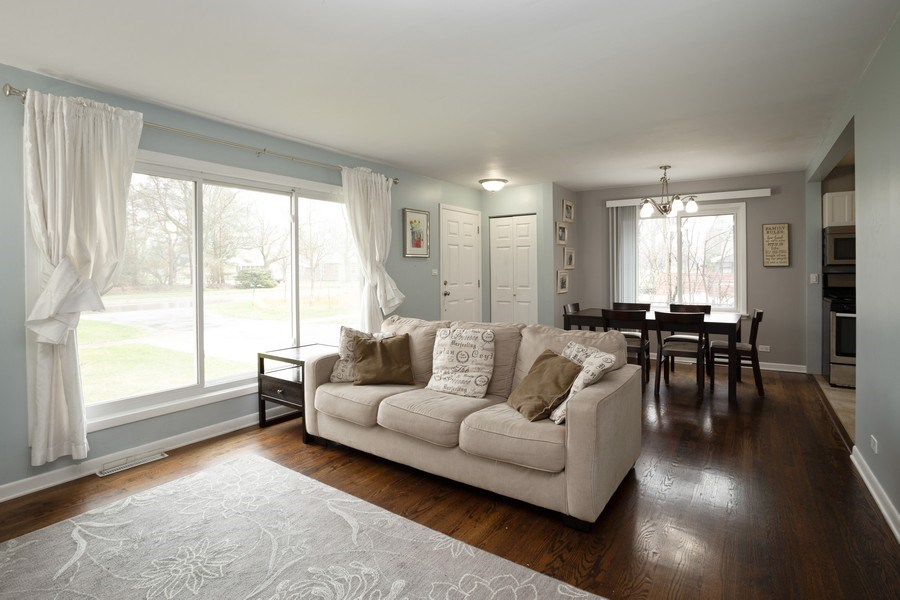Real Estate Photography - 306 Harlem, Glenview, IL, 60025 - Living Room