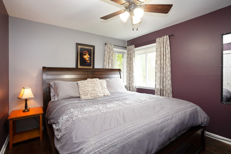 Real Estate Photography - 306 Harlem, Glenview, IL, 60025 - Master Bedroom