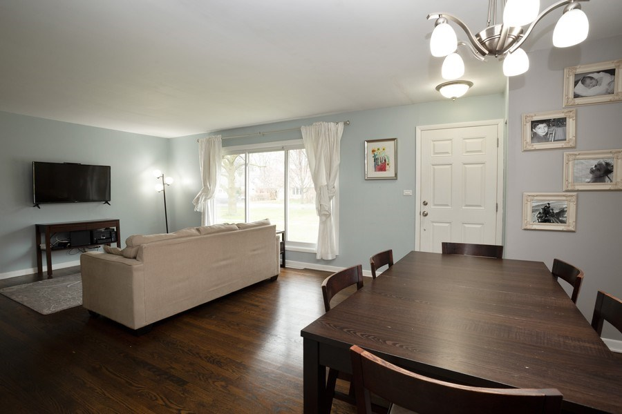 Real Estate Photography - 306 Harlem, Glenview, IL, 60025 - Living Room / Dining Room