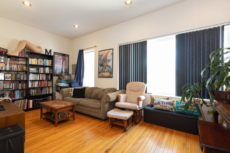 Real Estate Photography - 2647 W Cortez, Chicago, IL, 60622 - Living Room