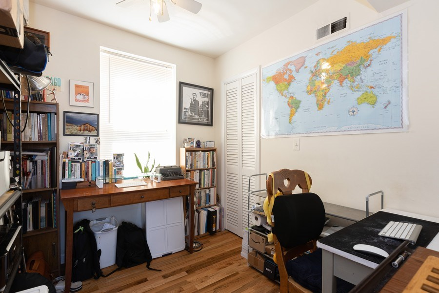 Real Estate Photography - 2647 W Cortez, Chicago, IL, 60622 - Bedroom