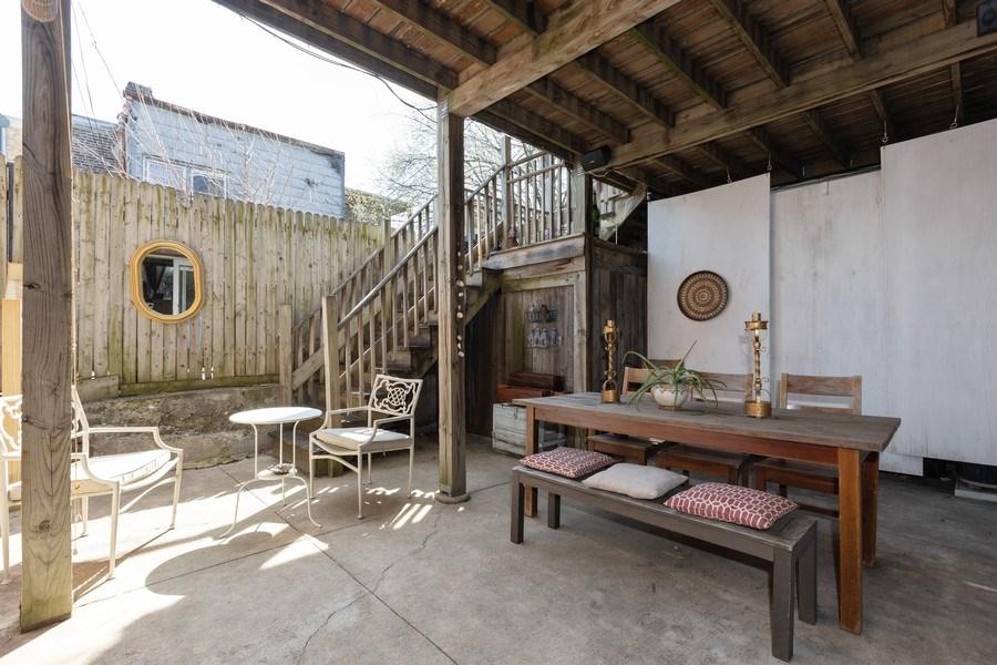 Real Estate Photography - 2647 W Cortez, Chicago, IL, 60622 - Patio