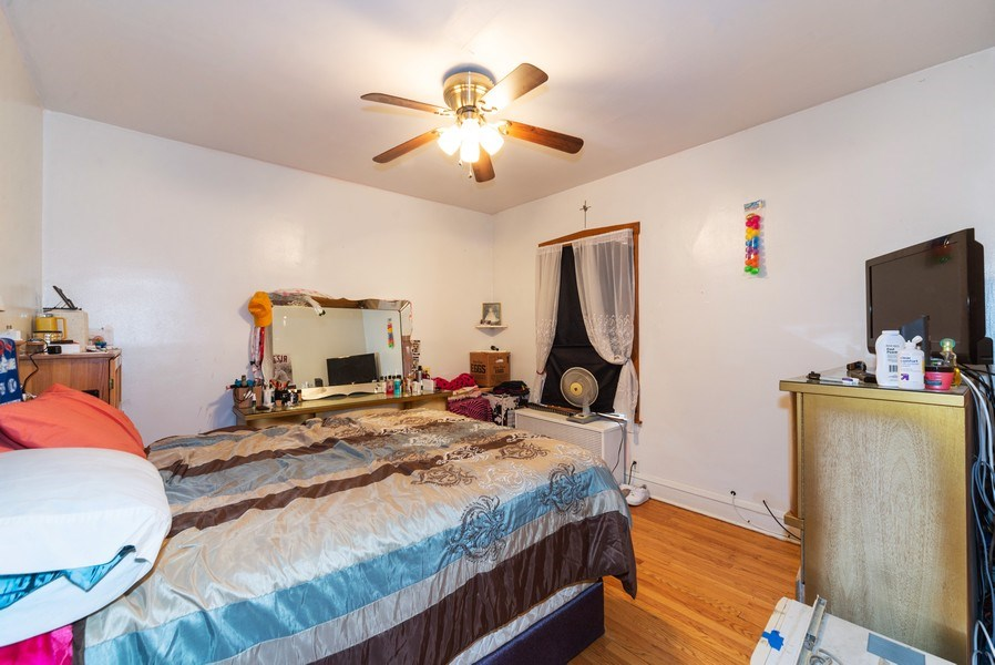 Real Estate Photography - 6140 W. Patterson, Chicago, IL, 60634 - Master Bedroom