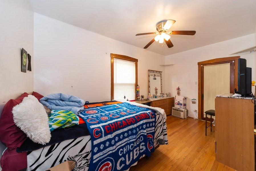 Real Estate Photography - 6140 W. Patterson, Chicago, IL, 60634 - Bedroom 2