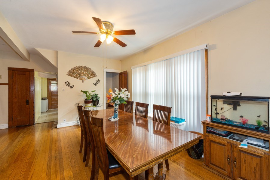 Real Estate Photography - 6140 W. Patterson, Chicago, IL, 60634 - Dining Room