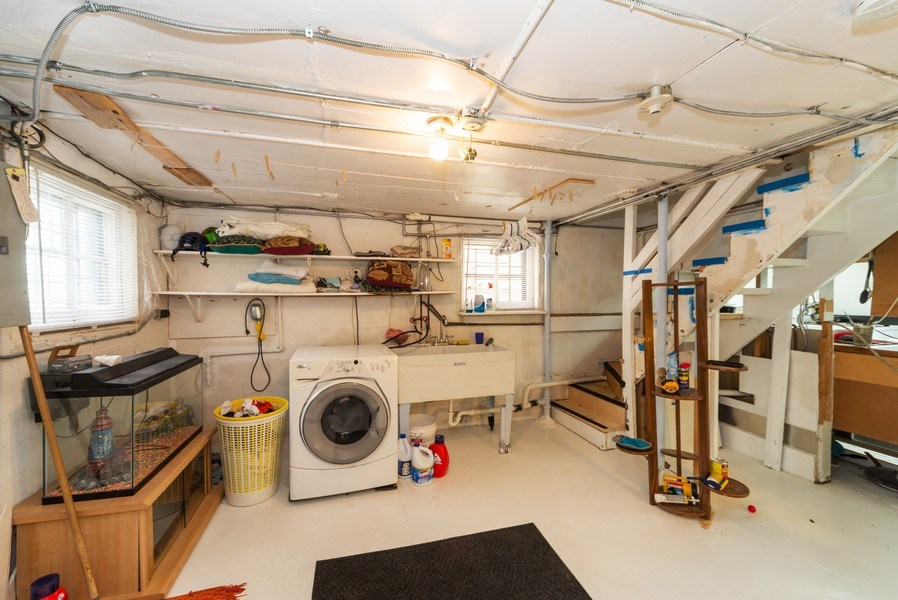 Real Estate Photography - 6140 W. Patterson, Chicago, IL, 60634 - Basement
