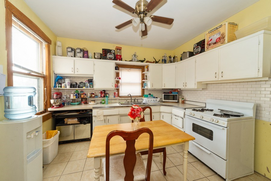 Real Estate Photography - 6140 W. Patterson, Chicago, IL, 60634 - Kitchen