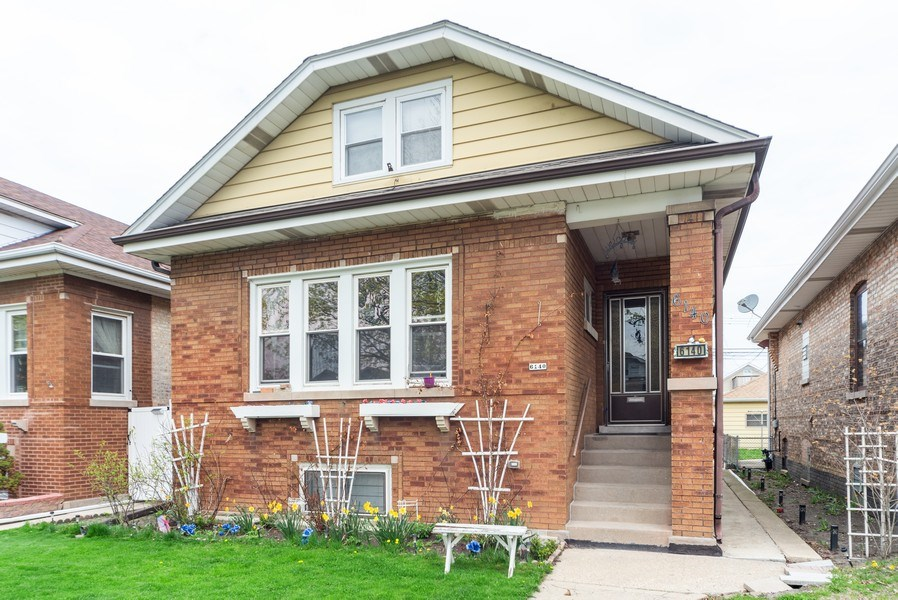 Real Estate Photography - 6140 W. Patterson, Chicago, IL, 60634 - Front View