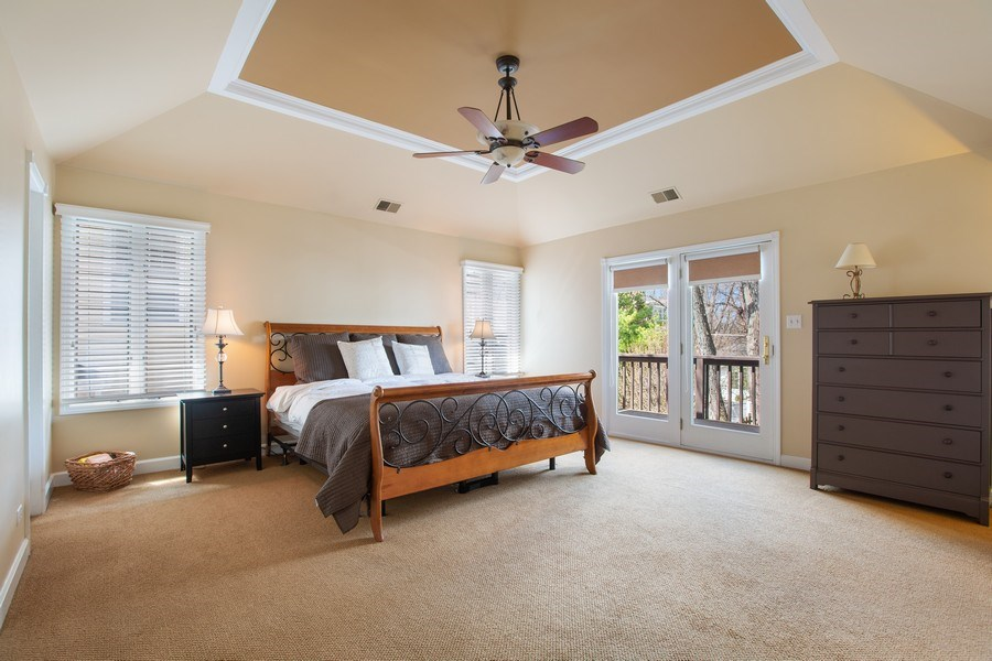 Real Estate Photography - 108 Oxford Ave., Clarendon Hills, IL, 60514 - Master Bedroom