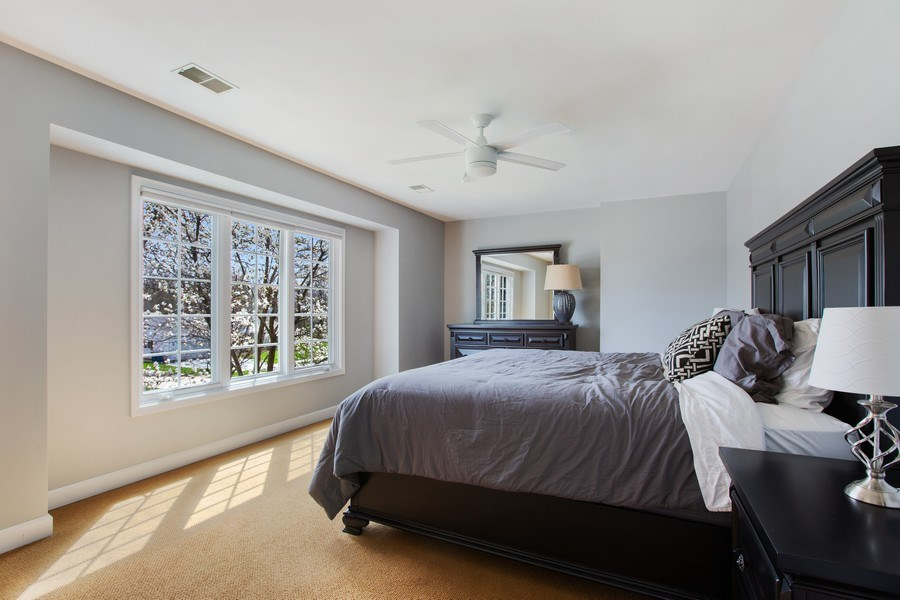 Real Estate Photography - 108 Oxford Ave., Clarendon Hills, IL, 60514 - Bedroom 3
