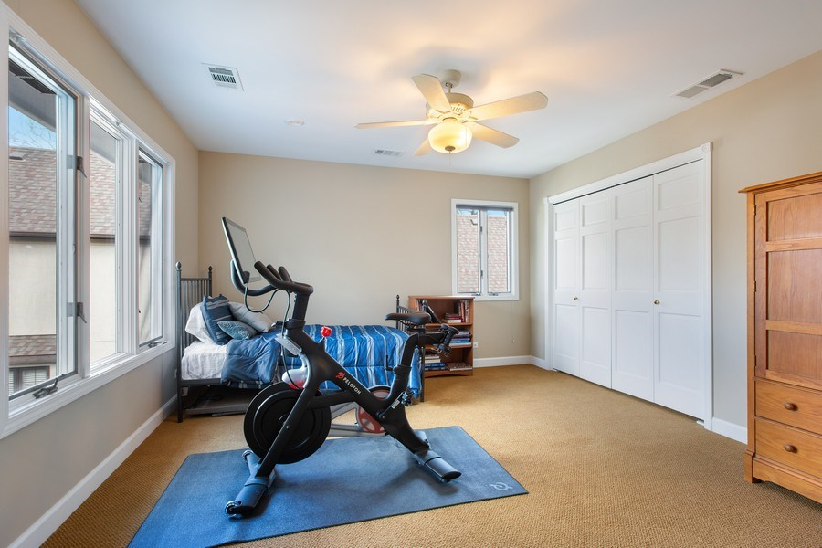 Real Estate Photography - 108 Oxford Ave., Clarendon Hills, IL, 60514 - Bedroom 4